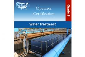 Water Treatment Exam Preparation Grade 3