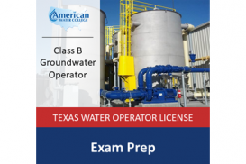 Texas Groundwater Operator Exam Prep - B