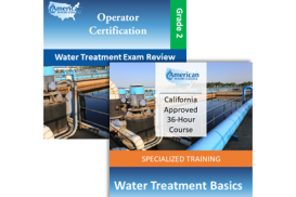 CA Grade T2 Water Treatment Operator License Upgrade