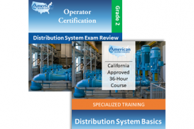 CA Grade D2 Water Distribution Operator License Upgrade