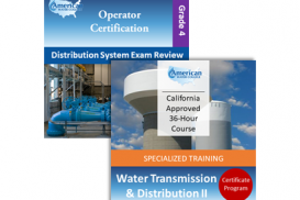 CA Grade D4 Water Distribution Operator License Upgrade