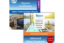 CA Grade T4 Water Treatment Operator License Upgrade