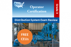 California Grade D3 Water Distribution Operator Exam Prep
