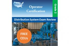 California Grade D2 Water Distribution Operator Exam Prep