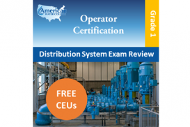 California Grade D1 Water Distribution Operator Exam Prep